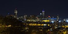 Boston skyline as seen from Prospect Hill in Somerville, MA. (photo by Tom Dubé)