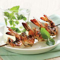 Mojito Marinade for Grilled Shrimp or Fish.