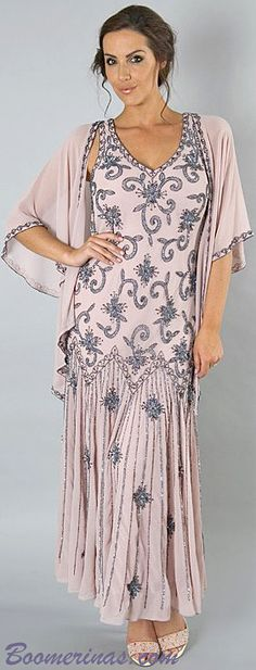 Plus size boho wedding dress for older brides over 40 50 60 - read article: http://www.boomerinas.com/2012/06/11/hippie-wedding-dresses-for-a-casual-bohemian-chic-celebration/