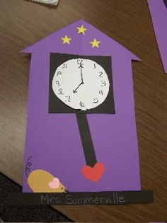 Hickory Dickory dock the mouse ran up the clock