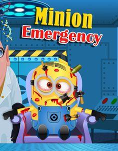 Ayuda a este Minion a curarlo, tuve un pleito con el minon morado y ahora esta muy herido. http://www.ispajuegos.com/jugar8562-Minion-Emergency.html
