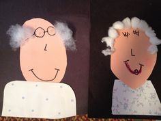 Grandparents day portraits Maybe have the kids ma k e a self portrait to hang up on grandparents day