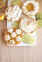 Mini Citrus Tarts - A Beautiful Mess