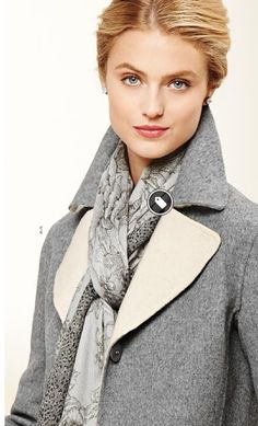 Dove Grey from Talbots. Springs, just remember to add a dab of color somewhere to keep you bright.