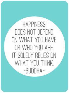 Happiness Buddha quote