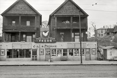 "November 1938. ""South Omaha, Nebraska."""