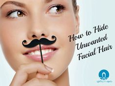 How to Hide Unwanted Facial Hair via @agirlsgottaspa #GoConfidently