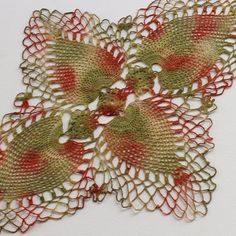 Hand Dyed Doily  Home Table Top Decor Upcycled by Palettepassion, $14.00