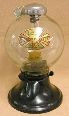 Simpson, Gumball, Bulk Vendor, 1 CentA Simpson penny Bulk Vendor with original decal and globe