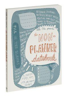 The Non-Planner Datebook | Mod Retro Vintage Stationery | ModCloth.com