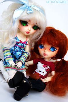 Hujoo 24cm ABS Berry BJD, personal collection (Ermine and Murphy)