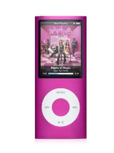 Apple iPod nano 8 GB Pink (4th Generation) OLD MODEL,
