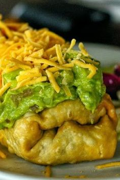 Oven-Fried Chicken Chimichangas - A fast and healthier way to serve Chimichangas than the traditional deep fried.