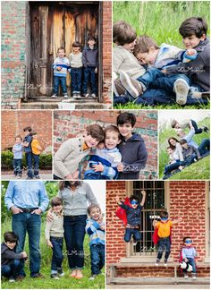 sibling & family poses by ZLM photography