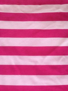 Pink/fuschia stripes 1 yard knit cotton lycra