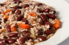 rice recipes, crock pot, brown rice, meals, slow cooker recipes, food, black bean, cooker red, red bean