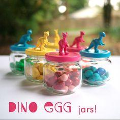 dinosaur favors from the post 10 Dinosaur Party Must-Haves: Boy Birthday Ideas - www.spaceshipsandlaserbeams.com