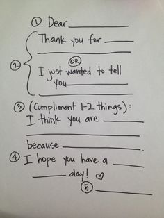 Activity Days--teach the girls to write a thank-you note