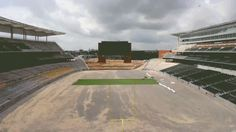 GIF of McLane Stadium turf roll-out. #SicEm #Baylor