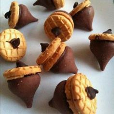 Edible Acorns- this looks so good!