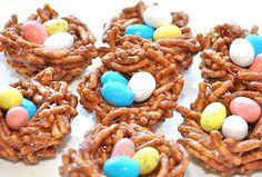 Robin's Egg Nests! Good Easter treat :)