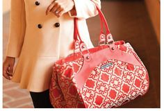 Petunia Pickle Bottom Fall Collection of bags: Persimmon Spice print is gorgeous