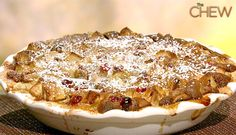 Clinton Kelly's Apple Cranberry Cobbler #thechew