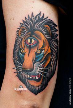 tats on Pinterest | Ship Tattoos, Lion Tattoo and Wolf Tattoos