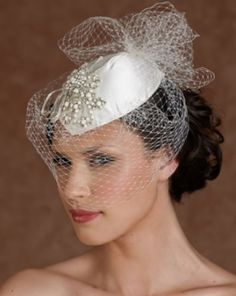 Wedding or ballroom hat