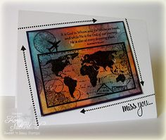 Card created by Korin Sutherland using Sweet 'n Sassy Stamps.