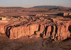 ACOMA Pueblo Skyline, New Mexico