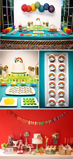 rainbow #party #kids