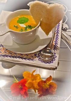 Orange Carrot Soup – Orangen Karotten Suppe mit Ingwer