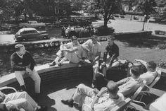 Big men on campus, c. 1950s
