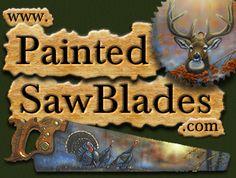 tole paint, paint sawblad, paint idea, blade paint