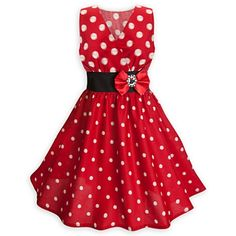 Disney Dress for Women - Minnie Mouse Sleeveless Dress