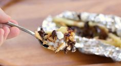 Grilled Chocolate Banana Melts