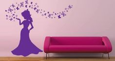 Make Your Walls Appealing with Princess Wall Décor: Princess Wall Murals ~ virtualhomedesign.net Wall Decor Inspiration