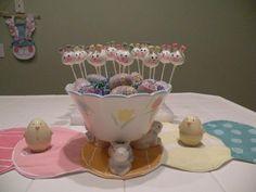 Cake Pop Centerpiece