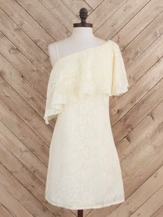 Altar'd State Polo Ruffle Dress