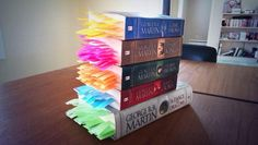 Someone marked every death in Game of Thrones....