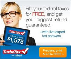 Freebie Alert – File For FREE With TurboTax