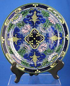 Royal Doulton Art Nouveau Floral Plate (c.1920-1930)