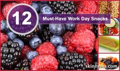 I can't miss out on snack time!! I recommend to keep these 12 Must-Have Workday Snacks in mind :-)
