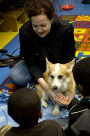 Therapy Dogs Visit Blackwell Regional Library