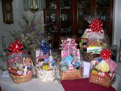 homemade gift basket presentation ideas