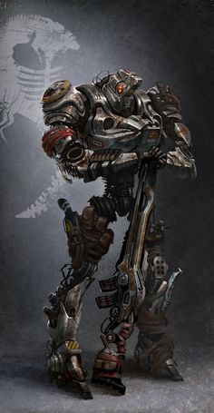 Robit Merc,  #Character, #Drawings, #Paintings & #Airbrushing, #Robots, #SciFi