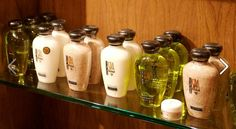 Luxurious products available at Meritage Resort & Spa- Spa Terra