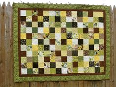 Simple but pretty. earthi quilt