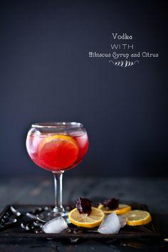Vodka with Hibiscus & Citrus | Sunshine and Smile